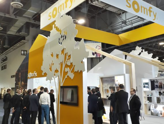 somfy booth on CES 2020
